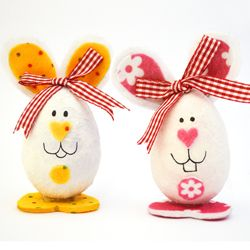 Quick and cute egg decorating for Easter