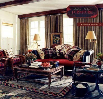 Beautiful Ralph Lauren Home Collection   Livingroom General View