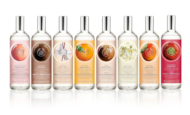 The Body Shop Body Mists are gifts for anybody! I want them for myself and to spoil my friends with! (mango shop the body)