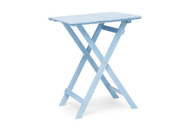 Åre Cafébord 58x58 cm  - Blå | Trademax.se