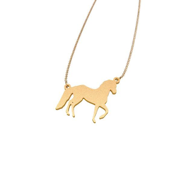 Horse Dressage 3D Zazzy printed jewelry