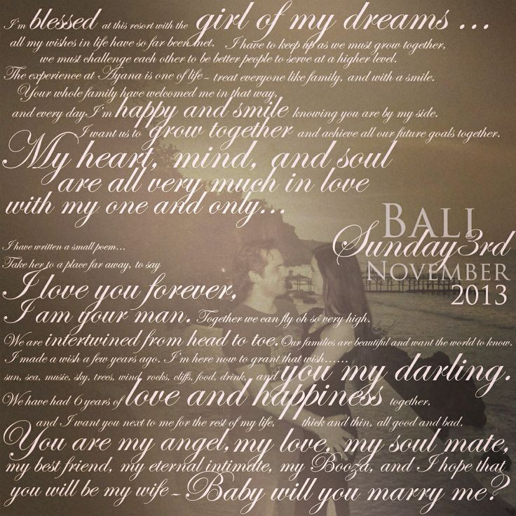 Gorgeous proposal framed for their engagement party for all the guests to read, such a sweatheart!