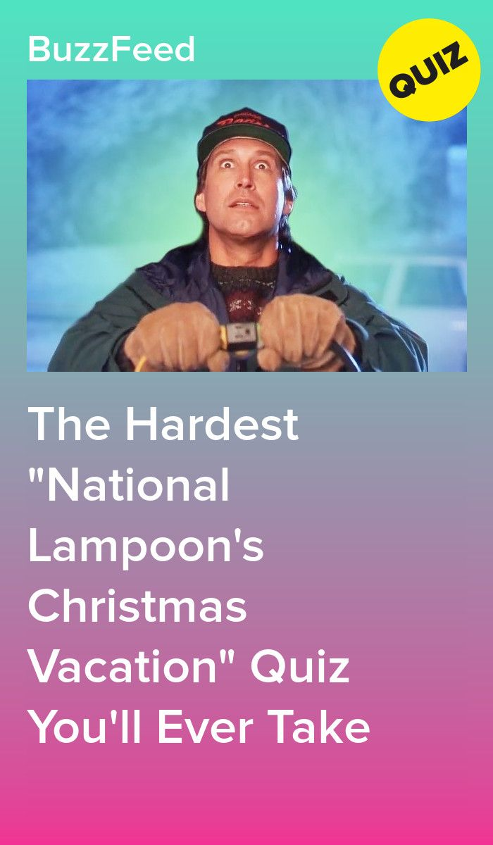 The Hardest National Lampoon S Christmas Vacation Quiz You Ll