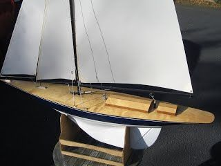 J Class Hulls for model sail boats and remote control (RC) racing from Alan Horne. JClass model boats and yachts for sale. Nottingham and Canterbury class hulls.