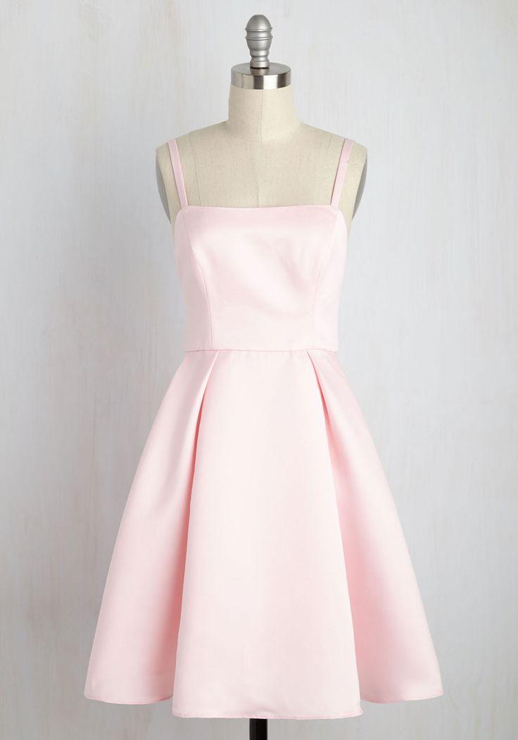 Understated Statement Dress in Carnation, #ModCloth