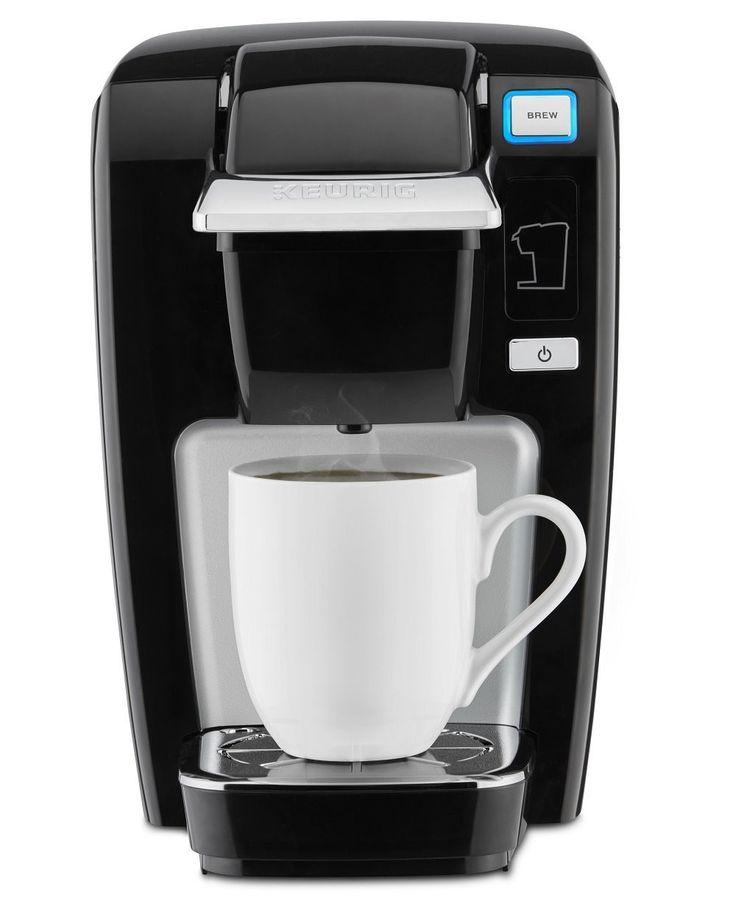 Keurig K15 Single Serve Compact K Cup Pod Coffee Maker, Black