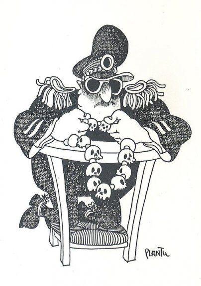 Los caricaturistas de Charlie Hebdo que dibujaron a Stroessner - Especiales - ABC Color
