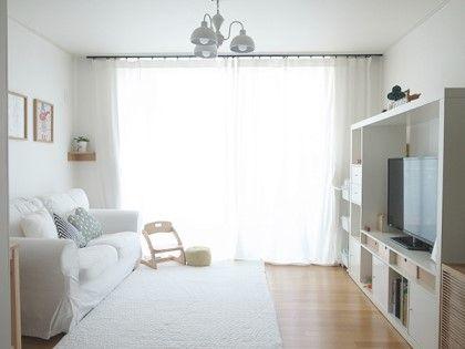 19년된 24평 아파트 부분 리모델링, 화이트와 원목으로 꾸며진 신혼집:) : 네이버 블로그