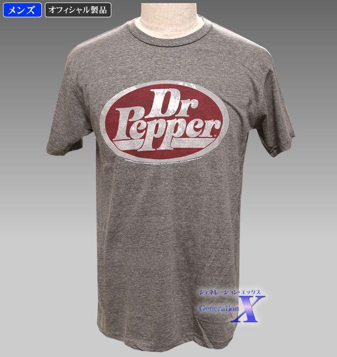 【Dr.Pepper ドクター・ペッパー・オィシャルTシャツ】メンズ(クラッシック)