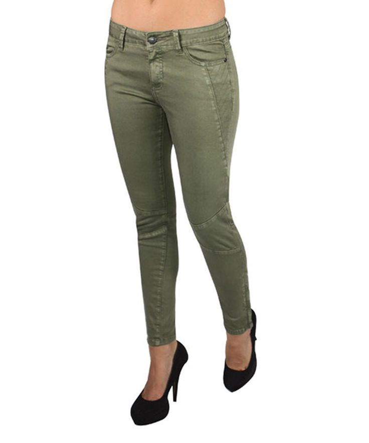 Another great find on #zulily! Lola Jeans Moss Moto Skinny Jeans by Lola Jeans #zulilyfinds