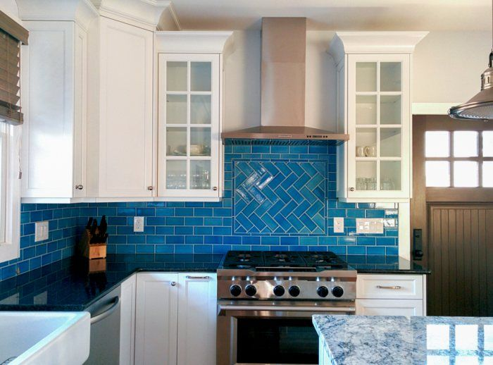 OceanInspired Tile Backsplash Calm cool and colorful this