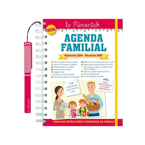 Agenda familial Mémoniak 2014-2015 : pour la Maison des Editions 365