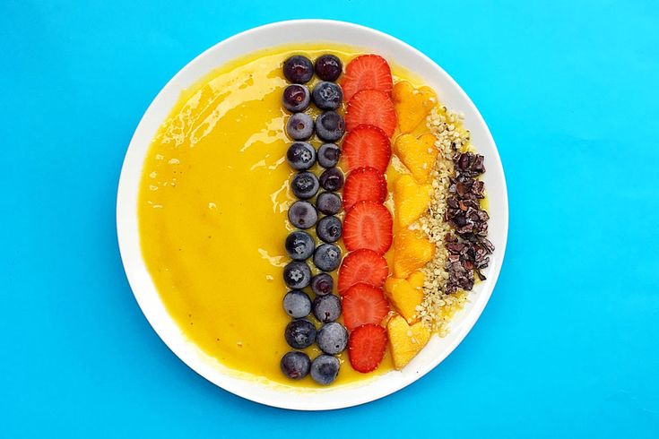 Maca Mango Smoothie Bowl #recipe #glutenfree #vegan