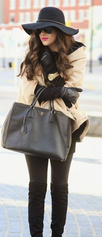 #fall #outfits / cape layers