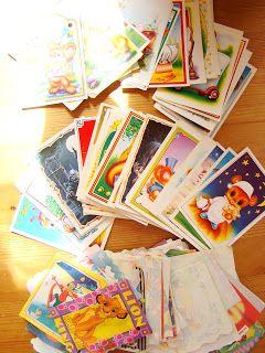 Ania mama Agnieszki: obrazy na ścianę inspirowane starymi karteczkami z...