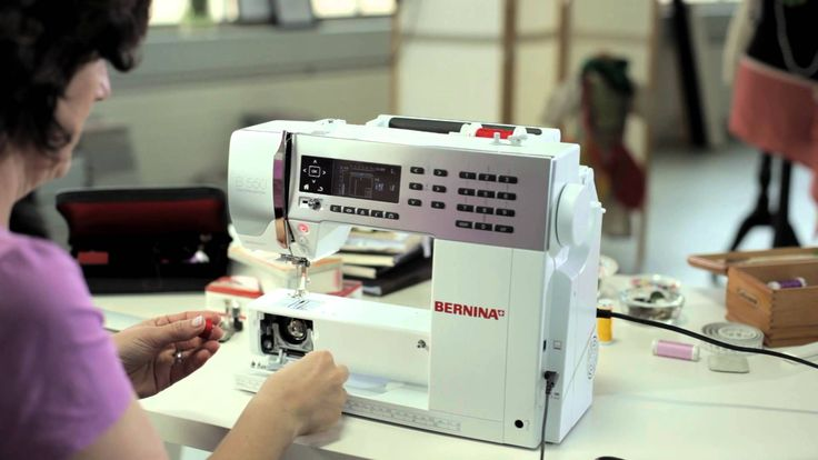 1/10 BERNINA 530 and 550 QE: getting started and prepared for sewing