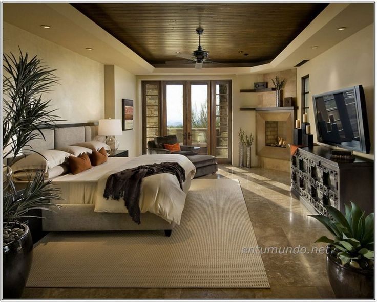 natural beige wall paint color dark grey master bedroom natural striped wood flooring room paint colors - Bedroom Decor With Beige Walls