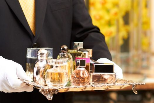 On-call fragrance butler rammers hotel guests with bespoke scents. Each hotel will feature a distinct fragrance menu tailored to its location