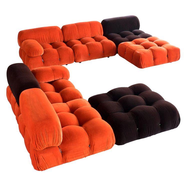 'Camaleonda' Modular Sofas by Mario Bellini | Modular sofa