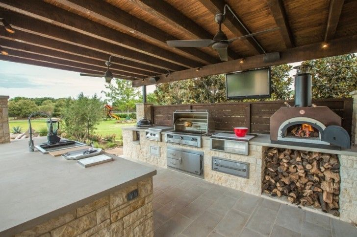 kitchen Outdoor Kitchen Pizza OvenBeautiful Outdoor Kitchen Ideas for Summer