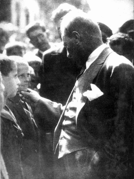 Father of the Turks Mustafa Kemal Ataturk