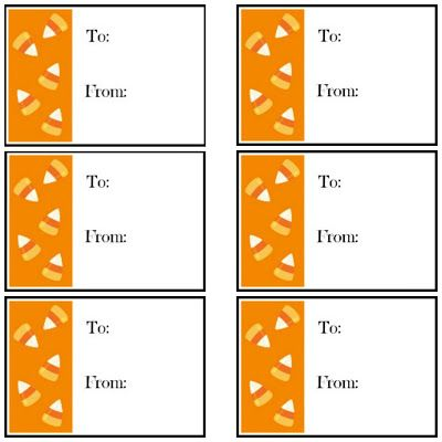 1000+ images about Printable Halloween Gift Tags on Pinterest ...