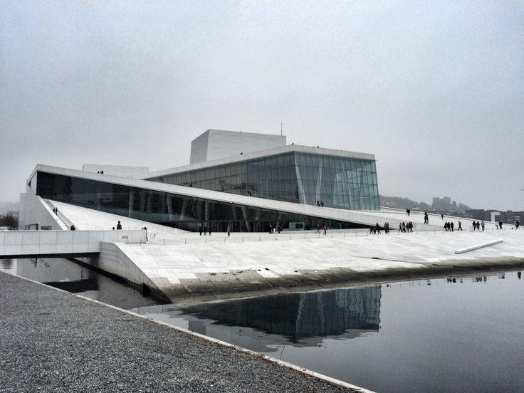 The Opera in Oslo. Picture by @villatverrteigen