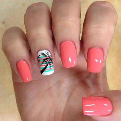 palm tree nail art designs 2017 | style you 7 - 2989 Best SUMMER Nail Art 2017 Images On Pinterest Summer Nail