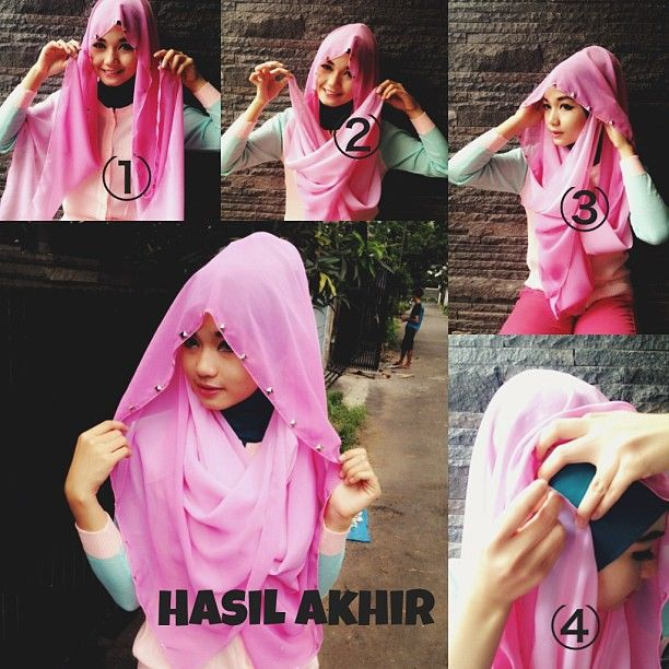 my tutorial hijab #2
