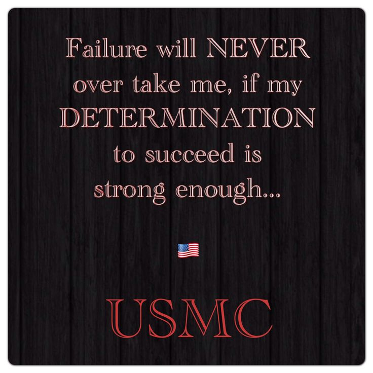 Inspirational Quotes About Failure: 17 Best Images About USMC Motivational Quotes On Pinterest