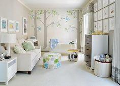 Babyzimmer gestalten - neutrale Farben passen für Mädchen und Jungen
