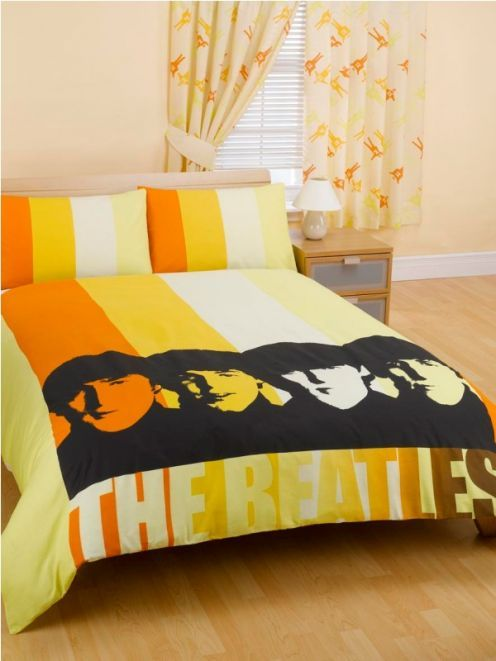 Hmm...wonder if Alex will want to sleep with the fab four every night?