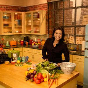 Rachael Ray S New Kitchen Set On Her Tv Talk Show