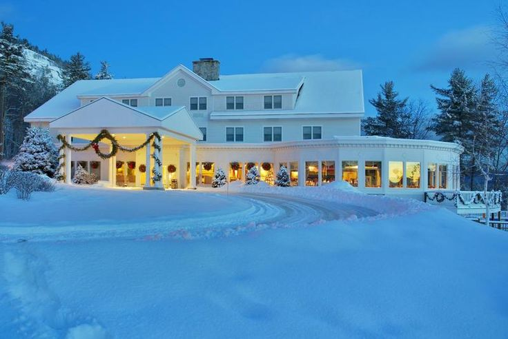 Winter Wonderland - The White Mountain Hotel & Resort   North Conway, New Hampshire