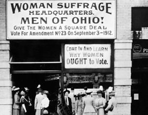 This lesson plan is for higher elementary and middle school students. By doing this lesson students will understand what women's suffrage is and how it affected the people during this time.