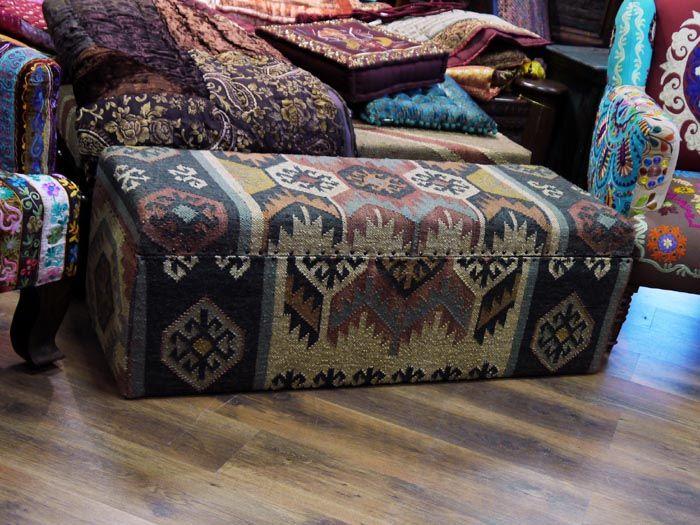 Сундук «Джулия», дерево, джут, ручная работа / Сундуки / Мебель изИндии. Каталог / мебель из массива, Индийская мебель, Восточная мебель