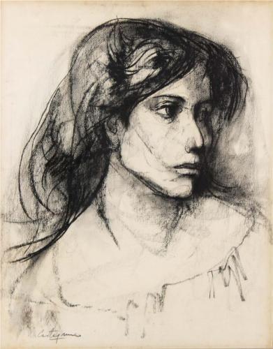 Mujer - Juan Carlos Castagnino (Argentinian painter)
