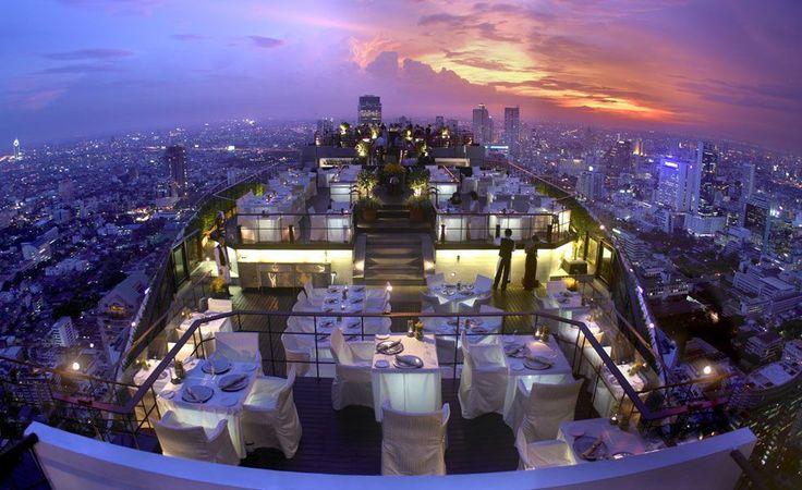 10. Vertigo & Moon Bar, Banyan Tree Hotel, Bangkok