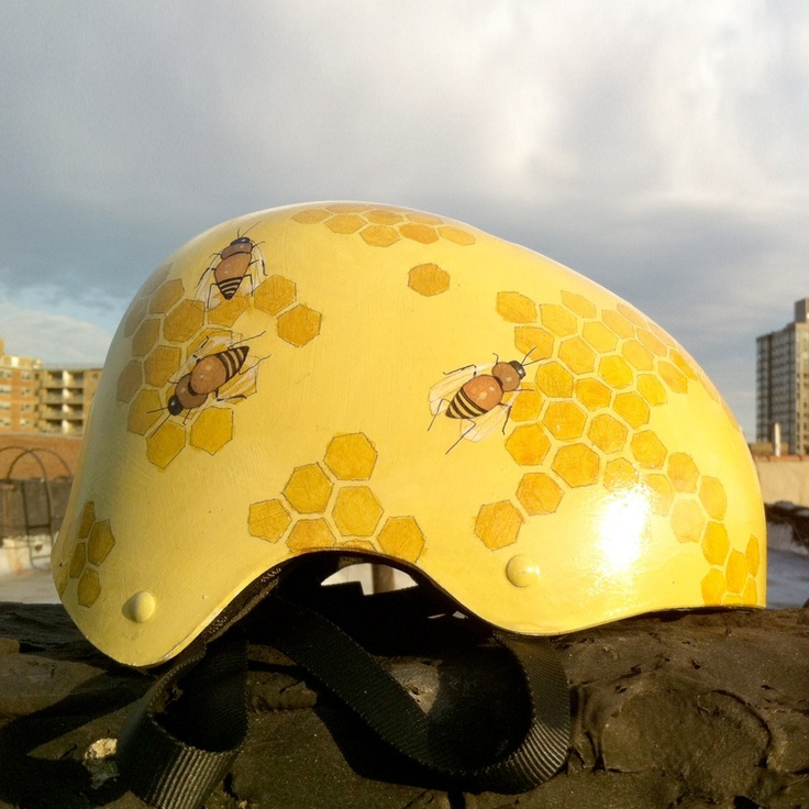 Fab.com | Honeycomb painted helmet