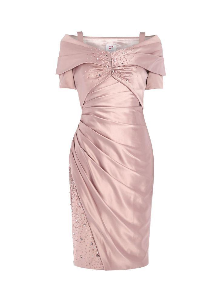 Anoushka g gold dress plus