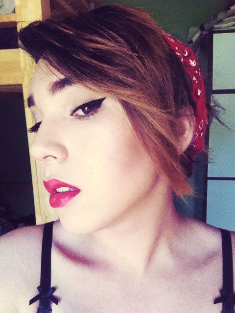 my rockabilly look   Rockabilly looks, Beauty, Makeup