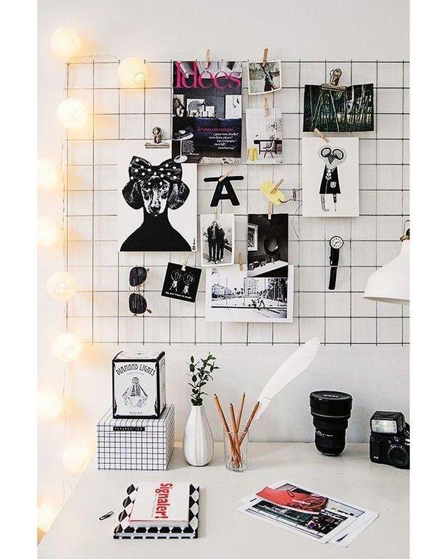 """705 Me gusta, 7 comentarios - FotoSprint (@fotosprinthq) en Instagram: """"⚡ DecoTips: colgá tus fotos con brochecitos en una grilla metálica. ¡Quedan geniales!"""""""