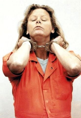 """Aileen Wuornos """"I'd just like to say I'm sailing with the rock, and I'll be back like Independence Day with Jesus June 6. Like the movie, big mother ship and all. I'll be back""""."""
