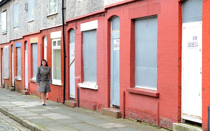 Pound land: derelict houses in Liverpool to be sold for just one pound