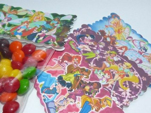 12 - Fairies Party Favor Bags | WildvineUnlimited - Paper/Books on ArtFire