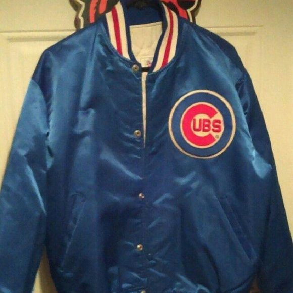 Vintage Starter Chicago Cubs Jacket Very Rare starter  Jackets & Coats Utility Jackets
