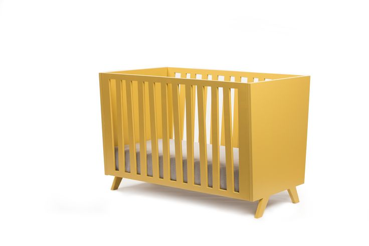 Beautiful retro cot bed by gomooki.  #babybed #crib #nursery #cot #cotbed #retro #retrobabybed #gomooki