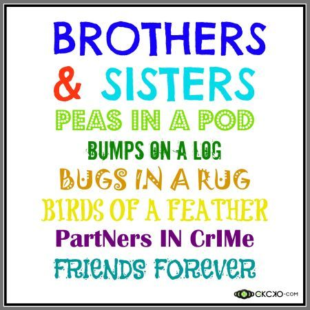 brothers and sisters day siblingsquote positive