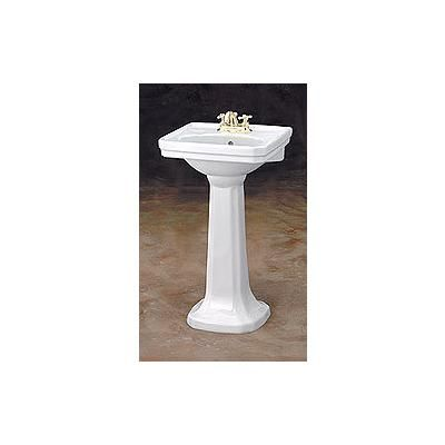 Small Basin With Pedestal : Cheviot Small Mayfair Pedestal Sink 511W20-8 White The Style ...