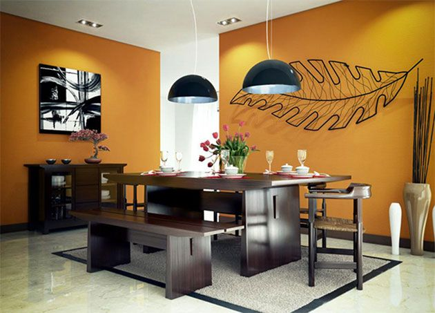 31 bellos colores para pintar tu comedor | Colores para sala ...